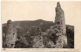 Ruines Du Chateau De MADIC Près BORT  ..  (88360) - France