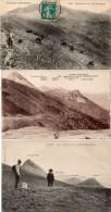 Col De ROMBIERE - 3 CPA - Panorama -Vacherie .  (88361) - Non Classés