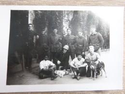 Carte Photo Coopérative D'armée Beyrouth, Anciens Et Bleus 1926  - C5 - Liban