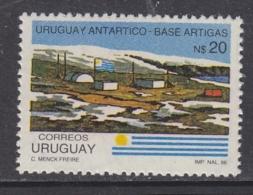 Peru 1986 Antarctic Base Artigas 1v ** Mnh (30390) - Peru