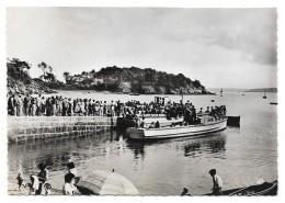 Cpsm: 22 ILE DE BREHAT (ar. Saint Brieuc) Le Port Clos - Embarcadère De Haute Mer (Très Animé) N° 6 - Ile De Bréhat