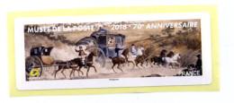 2016 LISA 2 / 70ème Anniversaire Du Musée De La Poste - 2010-... Vignettes Illustrées