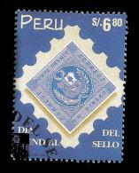 E)1998 PERU, STAMP DAY, 1198 A537,  MNH - Peru