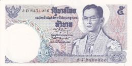 THAILANDE - BILLET NEUF DE 5 BAHT - 1969 - Thaïlande