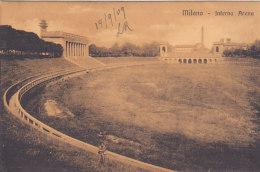 Milano - Interno Arena (stade, Animata, 1909) - Milano