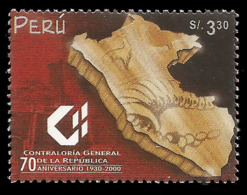 E)2000 PERU, COMPTROLLER GENERAL, 70TH ANNIV. 1255 A574, MNH - Peru