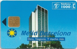 Spain - Hotel Melia Barcelona - P-115 - 03.1995, 5.000ex, Used - Spain