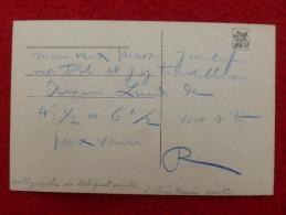 AUTOGRAPHE ROBIQUET ARTISTE PEINTRE A LOUIS MASSIN  1902 - Autographes