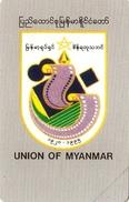 *MYANMAR* - Scheda NUOVA (MINT)