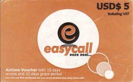 Zimbabwe USD$ 5 NetOne, Easy Call - Zimbabwe