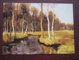 AK722 – Clemens Neuhaus Gemälde-Atelier Munster : 2 Col. Ansichten: Winterliche Moorstimmung – Weg In Der Döhler Heide – - Ansichtskarten