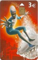 Spain - Los Increibles Hombre De Hielo (Disney) - P-570 - 09.2005, 4.000ex, Used - Espagne