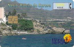 Spain - Nerja Balcón De Europa - CP-196 - 10.2000, 102.100ex, Used - España