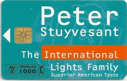 Spain - Peter Stuyvesant Tobacco - P-314 - 12.1997, 11.000ex, Used - Spanien