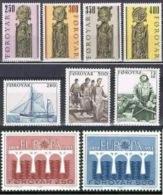 Anno 1984 Serie Non Completa Nuova E Perfetta MNH** - Isole Faroer