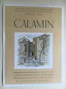 933 - Suisse  Vaud Calamin - Etiquettes