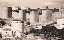 España--Avila--Vista Parcial--Murallas-- - Castillos