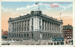 US CLEVELAND / Post Office And U.S Custom House / CARTE COULEUR - Cleveland