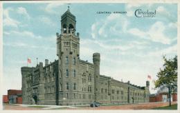 US CLEVELAND / Central Armory / CARTE COULEUR - Cleveland