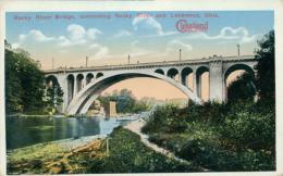 US LAKEWOOD / Rocky River Bridge Connecting Rocky River And Lakewood / CARTE COULEUR - Etats-Unis