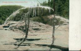 US YELLOWSTONE / Orange Geyser, Yellowstone Park / CARTE COULEUR - Yellowstone