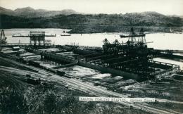 PA PANAMA DIVERS / Balboa Coaling Station, Panama Canal / CARTE GLACEE - Panama