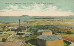 PA PANAMA DIVERS / View Of Breakwater From Balboa To Naos Island / CARTE COULEUR - Panama
