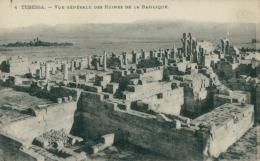 DZ TEBESSA / Vue Générale Des Ruines De La Basilique / - Tébessa