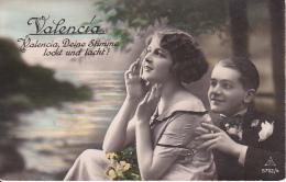 AK Liebespaar - Valencia, Deine Stimme Lockt Und Lacht - Ca. 1910/20 (23401) - Paare
