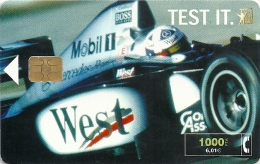 Spain - West Tobacco Formula 1 - CP-193 - 11.2000, 11.300ex, Used - Spain