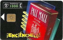 Spain - IEnciéndelo! Pall Mall Tobacco - P-321 - 03.1998, 10.000ex, Used - Spain