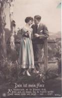AK Liebespaar - Dein Ist Mein Herz - Ca. 1910/20 (23408) - Paare