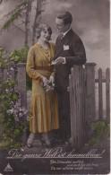 AK Liebespaar - Die Ganze Welt Ist Himmelblau - 1935 (23409) - Paare