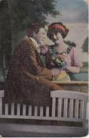 AK Liebespaar Mit Blumen - Ca. 1910 (23410) - Paare