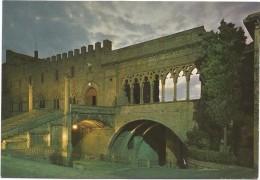 R561 Viterbo - Palazzo Papale - Notturno Notte Nuit Night Nacht Noche / Non Viaggiata - Viterbo