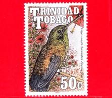 Nuovo - MNH - TRINIDAD & TOBAGO - 1990 - Uccelli - Birds - Copper-rumped Hummingbird (Amazilia Tobaci) - 50 - Trindad & Tobago (1962-...)