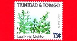 Nuovo - MNH - TRINIDAD & TOBAGO - 2005 - Erbe Medicinali - Worm Grass - 75 - Trindad & Tobago (1962-...)