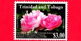 Nuovo - MNH - TRINIDAD & TOBAGO - 2014 - 40 Anni Di Relazioni Diplomatiche Con La Cina - 3.00 - Trindad & Tobago (1962-...)