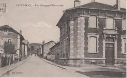 54-SAINT MAX-RUE GEORGES CLEMENCEAU - France