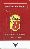 Super 8 Motel - Check Scans Of Back For Different Details Of These Cards With The Same Front!