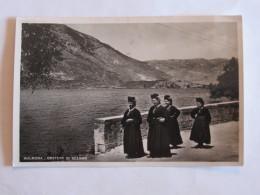 CARTOLINA  FORMATO PICCOLO  AQUILA SULMONA COSTUMEI DI SCANNO 1939   VIAGGIATA - L'Aquila