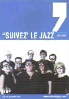 """Carte Postale édition """"Carte à Pub"""" - """"Suivez´ Le Jazz"""" (Magma) 2004-2005 - Publicité"""