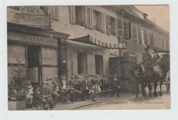 GIROMAGNY (90) - CAFE JEANRICHARD - ATTELAGE - Giromagny