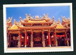 TAIWAN  -  Peimen  Nankuanshen Temple  Unused Postcard - Taiwan