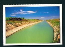 TAIWAN  -  Lungtien  Chianan Irrigation System  Unused Postcard - Taiwan