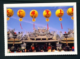 TAIWAN  -  Peikang  Chaotien Temple  Unused Postcard - Taiwan