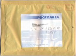 ITALIA - ITALY - ITALIE - 2005 - 2,00€ - EMA - Red Cancel - Microaera - Viaggiata Da Genova Per Cesena, Forlì, I... - Affrancature Meccaniche Rosse (EMA)