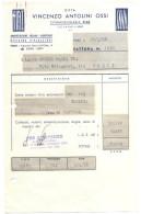 ITALIA - ITALY - ITALIE - 1968 - Fattura Con Marca Da Bollo L. 4, Quietanza, Contratto Per Acquisto Auto FIAT 124 - Italie