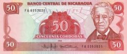 NICARAGUA 50 CORDOBAS 1985 P-153 UNC [NI447a] - Nicaragua