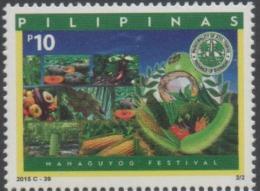 PHILIPPINES, 2015, MNH,MAHAGUYOG FESTIVAL, VEGETABLES, CORN, AVOCADOS, PUMPKINS,1v - Vegetables